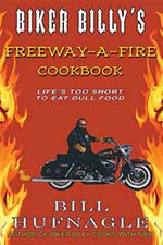 Biker Billy Freeway-a-Fire Cookbook Cover